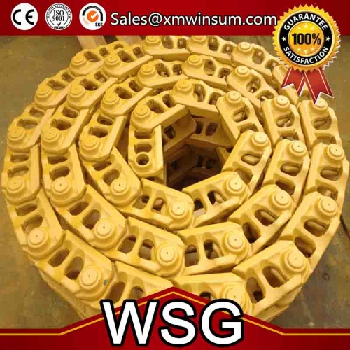 Bulldozer Track Chain Link for D31 D3C D30 Spare Parts | WSG Machinery