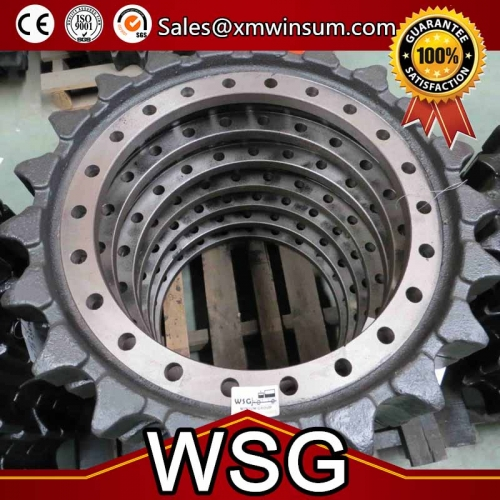 Excavator Hitachi EX270LC-1 Undercarriage Parts Drive Sprocket Rim