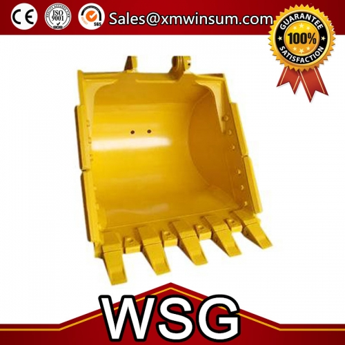 Volvo EC60 Mini Excavator Digging Standard Bucket Parts With Teeth